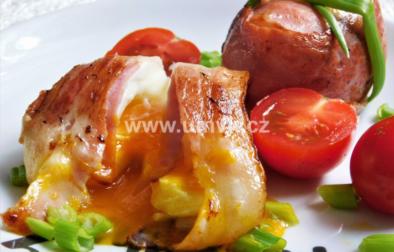 Vejce opečené ve slanině